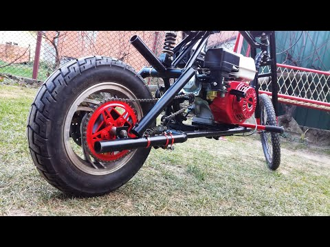 Homemade Mini Motorcycle 200cc - Painting