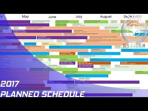 Star Citizen: 2017 Planned Development Schedule!