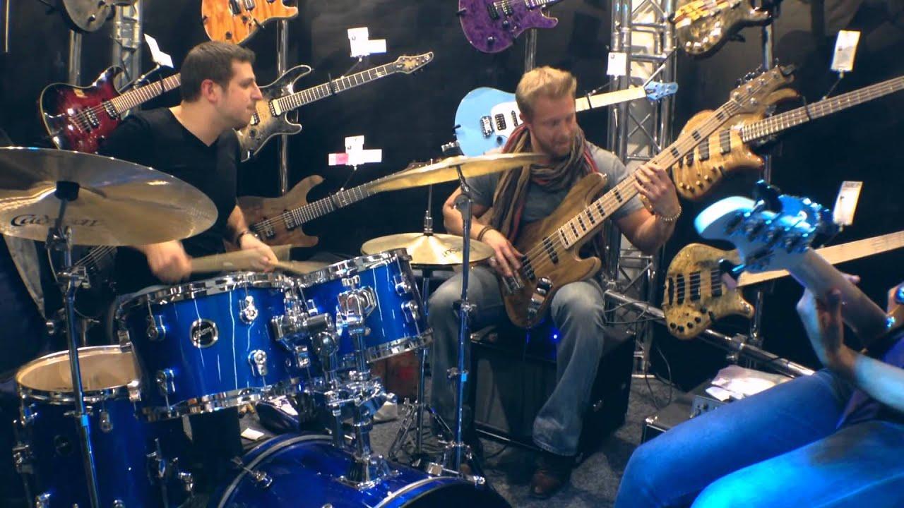Killing Jam! Hadrien Feraud, Nicolas Viccaro and Yolanda Charles. Musikmesse 2014