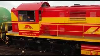 Маневровый локомотив ТЭМ 2