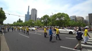 今年の神戸まつり、5月21日のメインフェスティバルのパレードのオープニ...