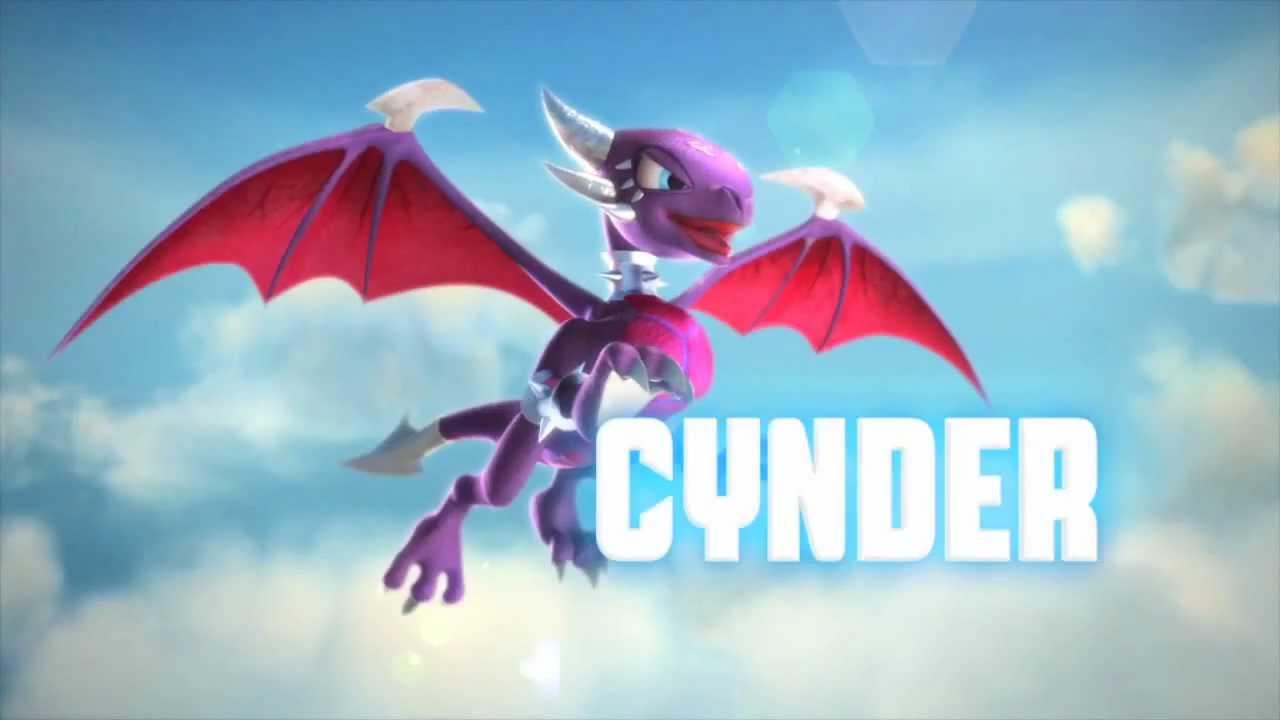 meet the skylanders series 2 cynder