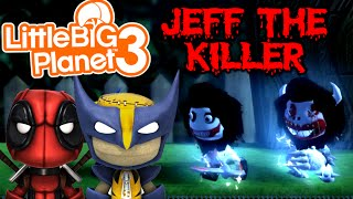 JEFF THE KILLER! | Little Big Planet 3 Multiplayer (7)