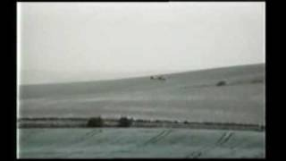 Military Helicopter Over Crop Circles