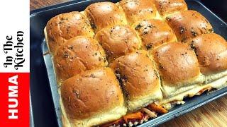 Huma&#39s Secret Pizza Sliders Recipe Famous Recipe by (HUMA IN THE KITCHEN)