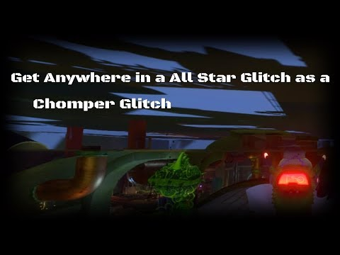 Plants vs Zombies GW2 Get Anywhere in a All Star Glitch As a Chomper Glitch