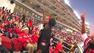 Crackhead Tirade During 49ers Game at Levi's Stadium