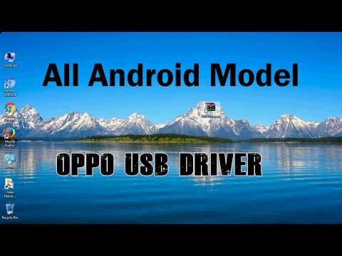 How To Install Oppo USB Driver For Windows | ADB And FastBoot