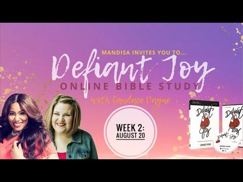 Defiant Joy Online Bible Study 2