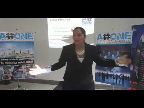 A#ONE: Carolina Castillo - Taller: Lista Efectiva