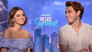 The Last Summer: KJ Apa and Maia Mitchell Spill Hilarious Secrets About That Sexy Scene