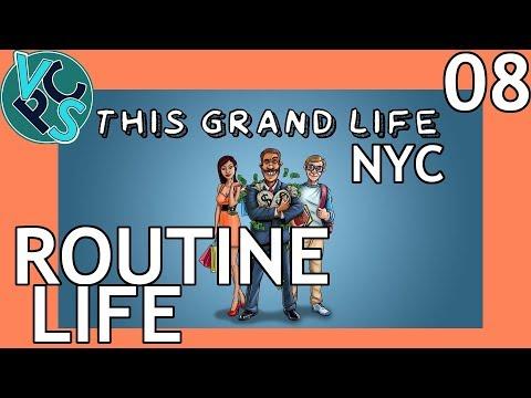 This Grand Life EP08 - Routine Life – New York City! Adult Life Simulator Gameplay