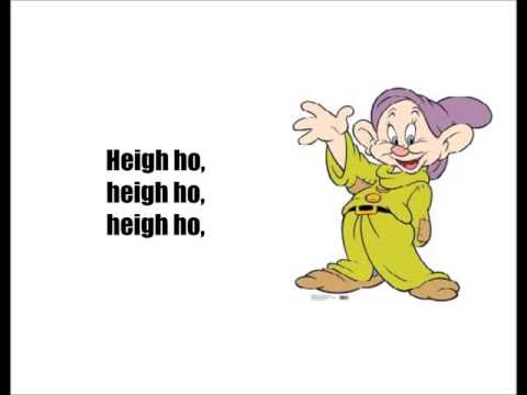 Snow White - Heigh Ho (Lyrics)