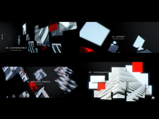 Modern Mosaic Modular Template for Apple Motion & FCPX - MotionVFX