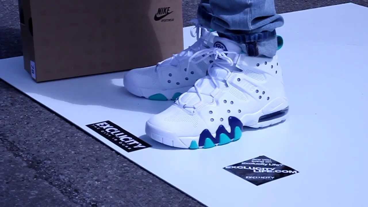 lowest price 8d7dc da33d ... spain nike air max barkley on feet video exclucity youtube 63b83 032b8