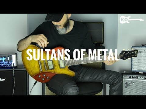 Dire Straits - Sultans Of... METAL! - Electric Guitar Cover By Kfir Ochaion