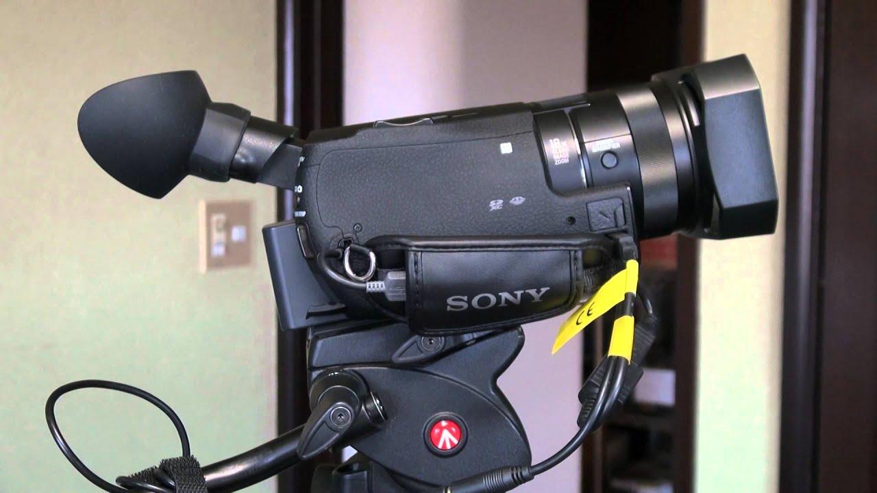 Sony Xplod Not Working Sears Lt2000 Wiring Diagram 4k Fdr Ax100 に大型アイカップを取り付ける Youtube