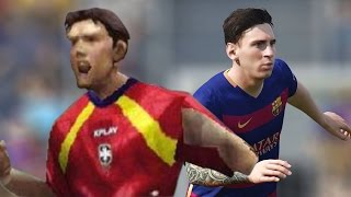 The Evolution of FIFA Games
