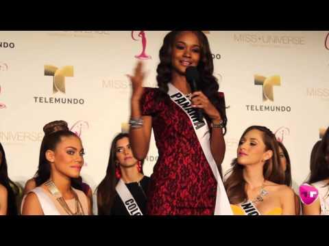 Miss Panamá hace llorar a Miss España - Miss Universe 2015