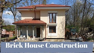 how to make a brick house