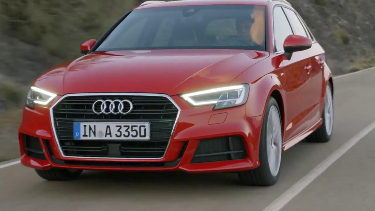 Audi A Sportback Footage MOTOR CARS YouTube - Audi a3 04 car mats