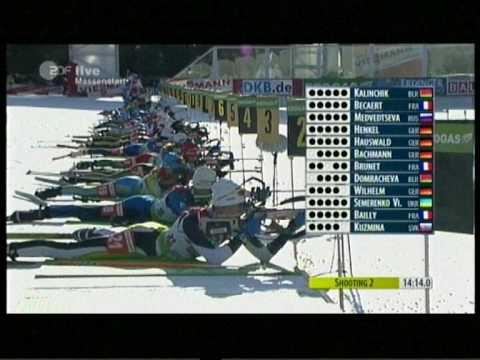 Biathlon Massenstart Damen