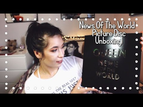 Queen News Of The World Picture Disc Unboxing!