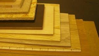 Sperrholz, Spanplatte, Faserplatte, OSB -Platten, MDF-Platten, HDF, Laminat