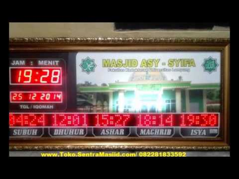 Jam Sholat Digital Masjid JAMBI I 088268169647