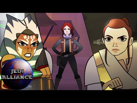 Forces of Destiny Premieres,  Rebels Crossover & More!   Jedi Alliance 139