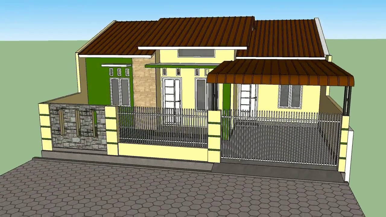 Desain Renovasi Rumah Type 36 House Renovation Type 36 To Be More Extensive Request By Eko Syafrianto