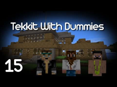 Tekkit With Dummies: Episode 15 Building The Geothermal Facility! [HD]