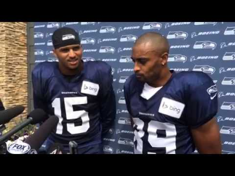 Jermaine Kearse, Doug Baldwin play the roles of each other
