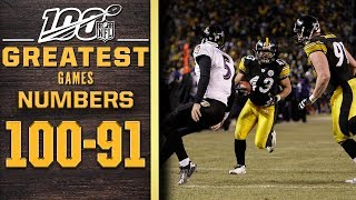 100 Greatest Games: Numbers 100-91 | NFL 100