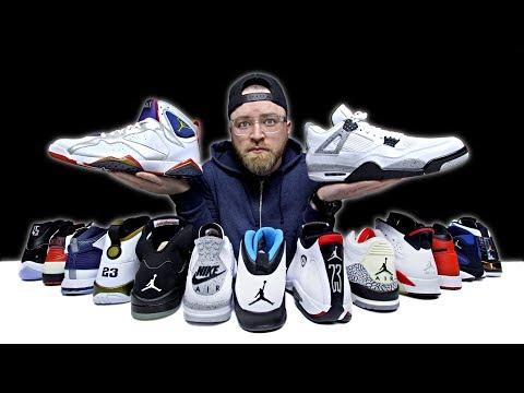 Unboxing Every Air Jordan Sneaker