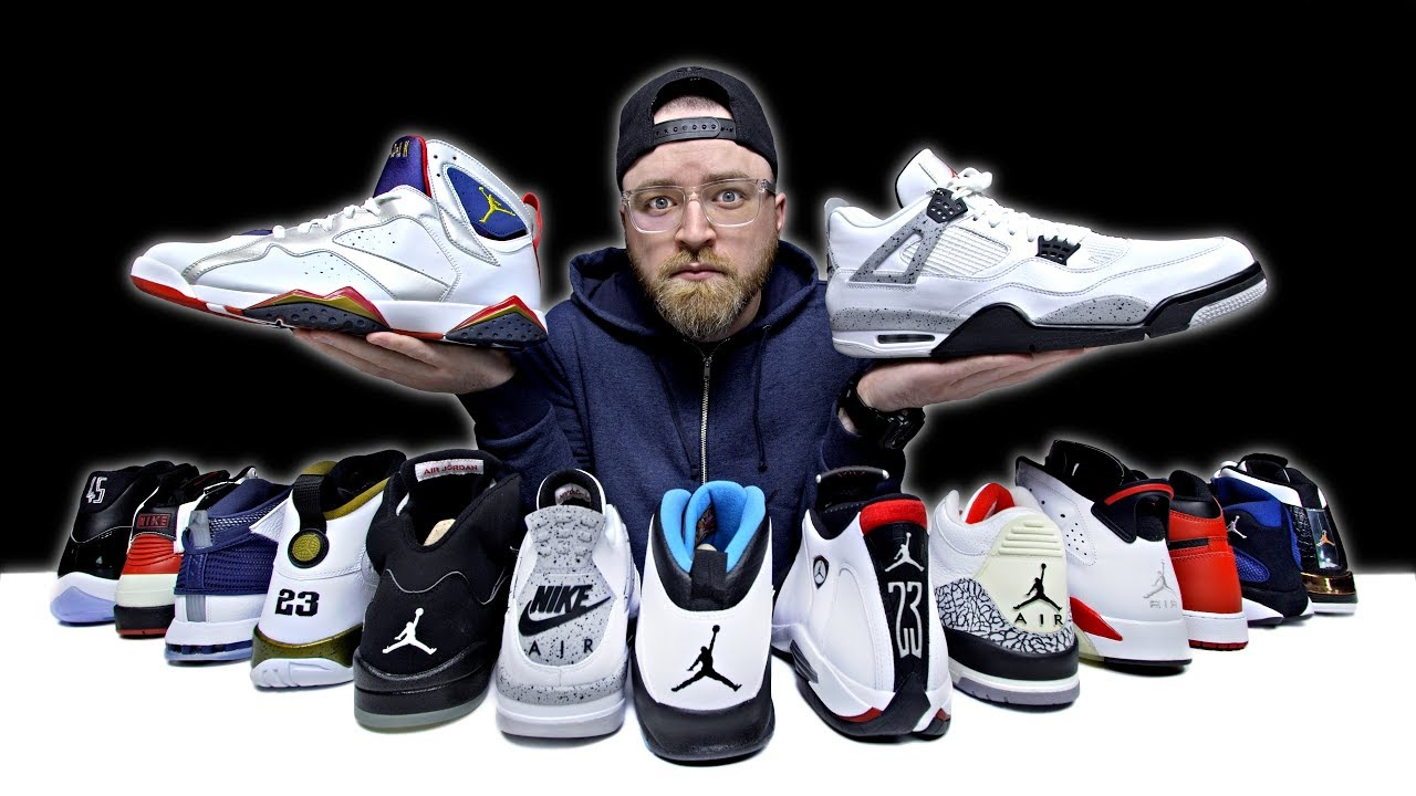 936831b842f Unboxing Every Air Jordan Sneaker - YouTube