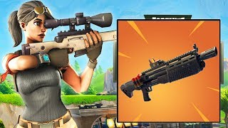 NEW HEAVY SHOTGUN - INCREASED RANGE & DAMAGE - COMING SOON (Fortnite: Battle Royale)