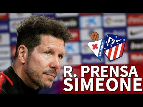 Eibar - Atlético | Rueda de prensa previa de Simeone | Diario AS