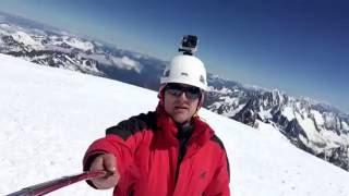 Summit Mont Blanc 4810m 2016 Kiciuś ! R. Janocha !!