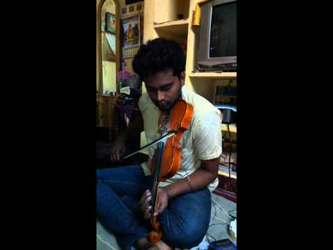 Download Lagu  Kaththi theme - Violin cover | Anirudh Ravichander Mp3 Free