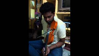 Cover images Kaththi theme - Violin cover | Anirudh Ravichander