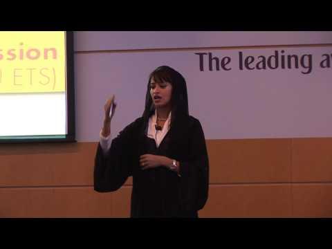 Captain Aysha Al Hamili - Emirates Aviation College - 2012