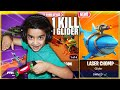 1 KILL = 1 NEW GLIDER CHALLENGE WITH MY 5 YEAR OLD LITTLE BROTHER | KID WINS LEAKED FORTNITE GLIDERS