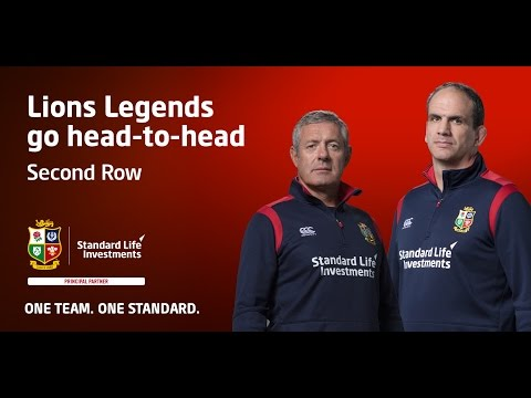 Who makes the Squad? British & Irish Lions legends pick their Second Row