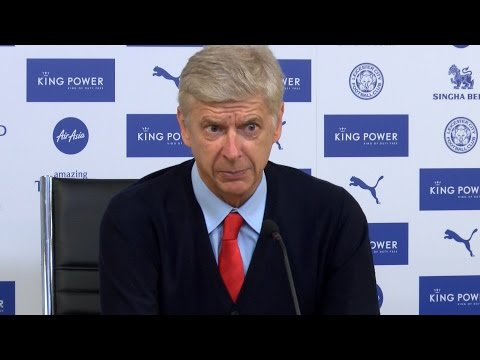 Leicester 0-0 Arsenal - Arsene Wenger Full Post Match Press Conference