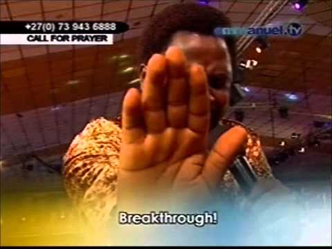 T B  Joshua Prays For YouTube Viewers