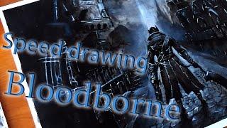 Speed drawing Bloodborne