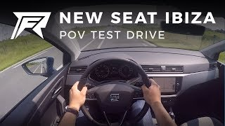 2017 Seat Ibiza 1.0 TSI - POV Test Drive (no talking, pure driving)
