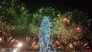 Dubai Festival City Firework Show On New Year 2018