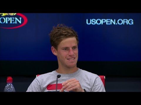 2017 US Open: Diego Schwartzman QF Press Conference (English)